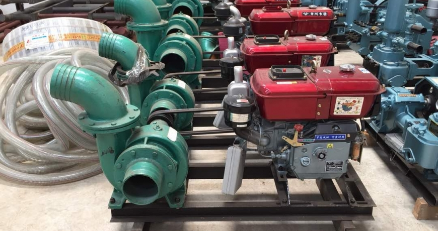 Irrigation water pumps by Grekkon Limited