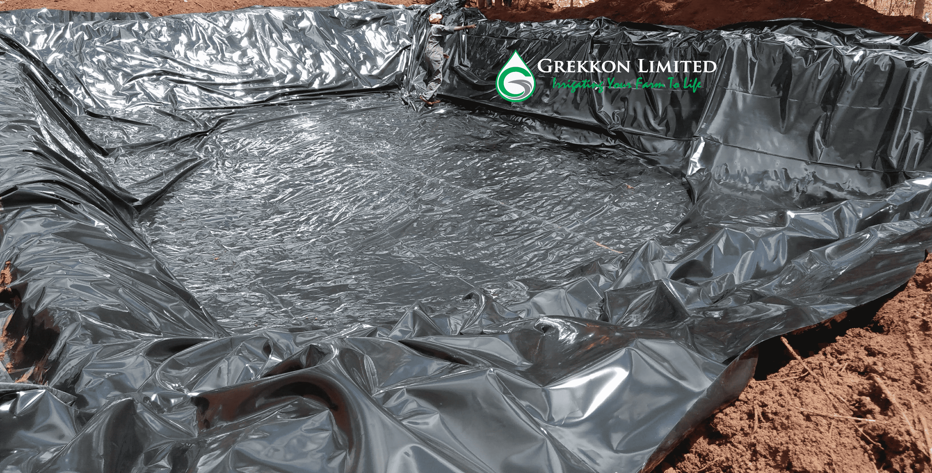 Fish pond liners by Grekkon Limited