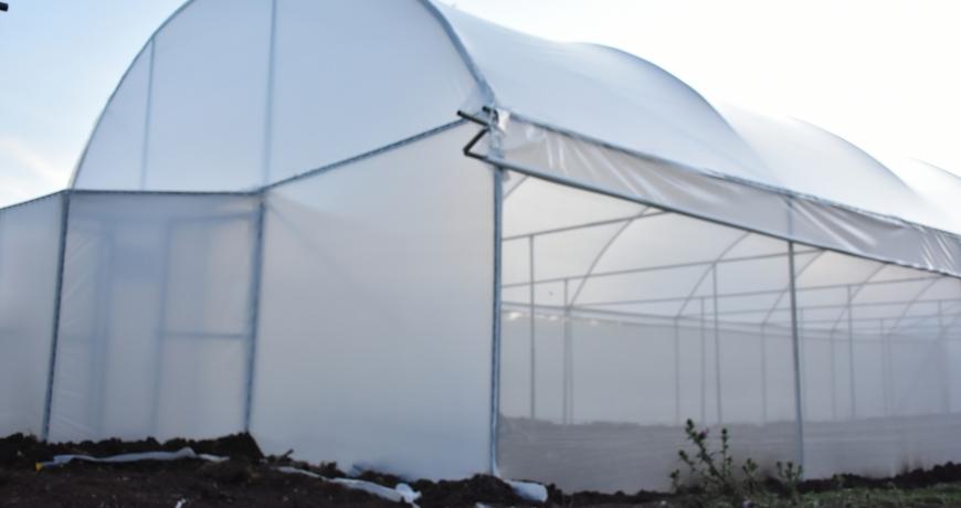 Greenhouse polythene, clear type by Grekkon Limited