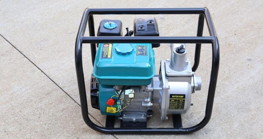 Petrol water pump by Grekkon Limited
