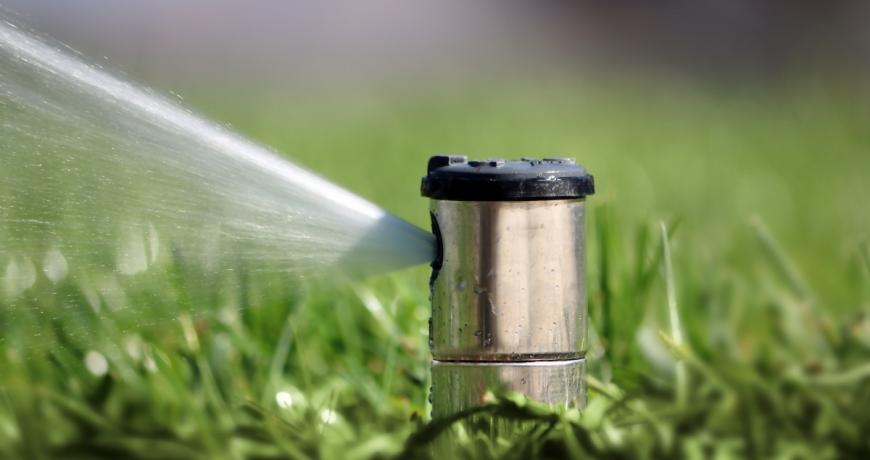 Pop up sprinklers by Grekkon Limited
