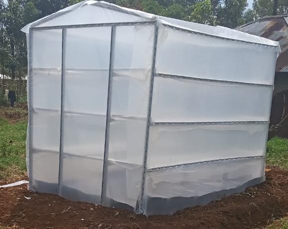 Solar dehydrators in Kenya as designed by Grekkon Limited