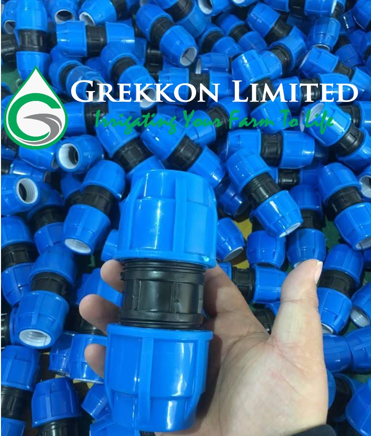 HDPE Compression Irrigation Fittings